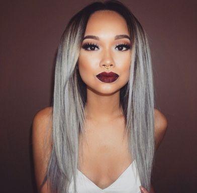 silver hair zoom sur la coloration tendance shine hair beauty magazine